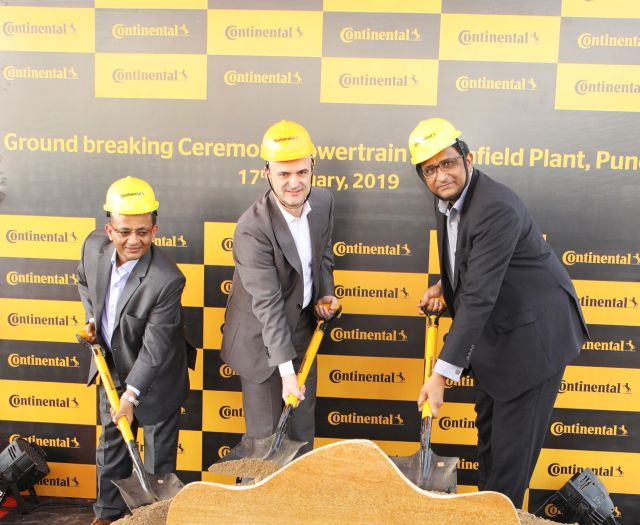 Continental announce the construction of new plant near Pune