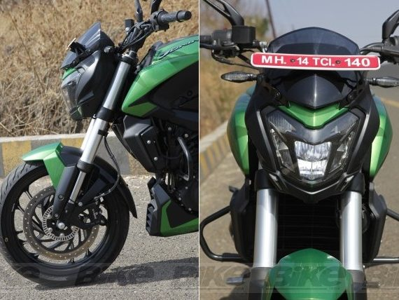 New suspension, headlamp and ABS on the Bajaj Dominar 400