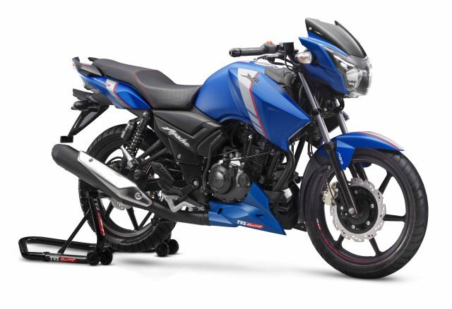 TVS Apache RTR 160 motorcycle gets ABS in India