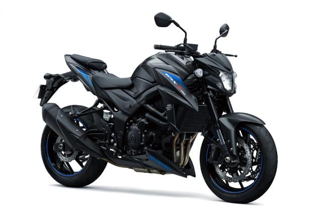 matte black 2019 suzuki gsx-s750 now in India