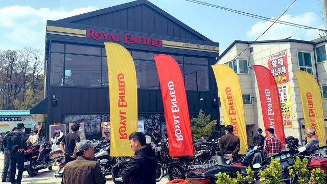 Royal Enfield Enter South Korea