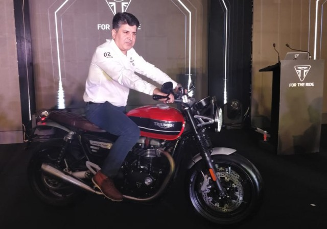 Triumph Speed Triple retro style bike launched in India