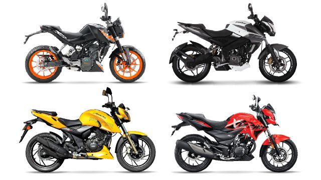 Best 200-cc Motorcycles in India