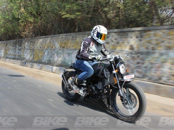 FB Mondial HPS 300 test ride in India
