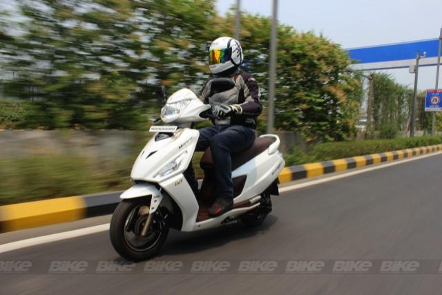 Hero Maestro Edge 125 Bike India ride review