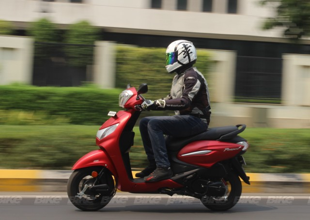 Hero Pleasure Plus 110 scooter review by Bike India