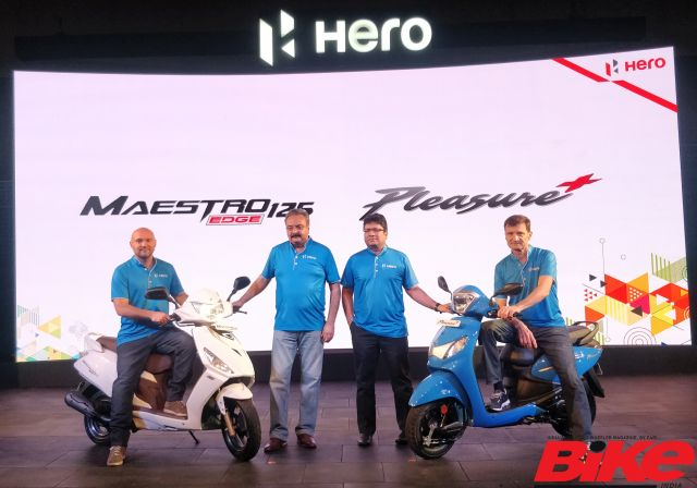 Hero Scooters launch