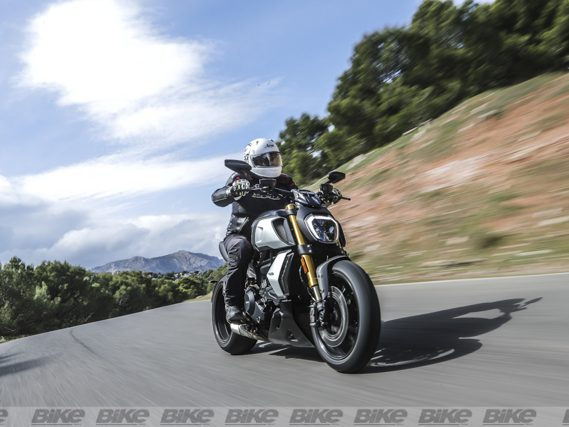 New Ducati Diavel 1260 S test ride in Malaga