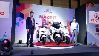 New 22 Kymco Scooters Launched; One Electric and Two Petrols