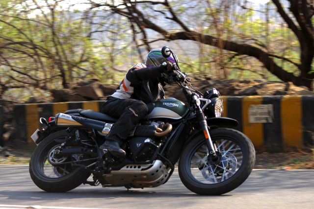 Triumph Street Scrambler First Ride Review: The Brits are
