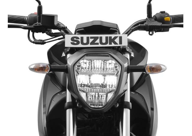 Suzuki Gixxer gets LED headlamp