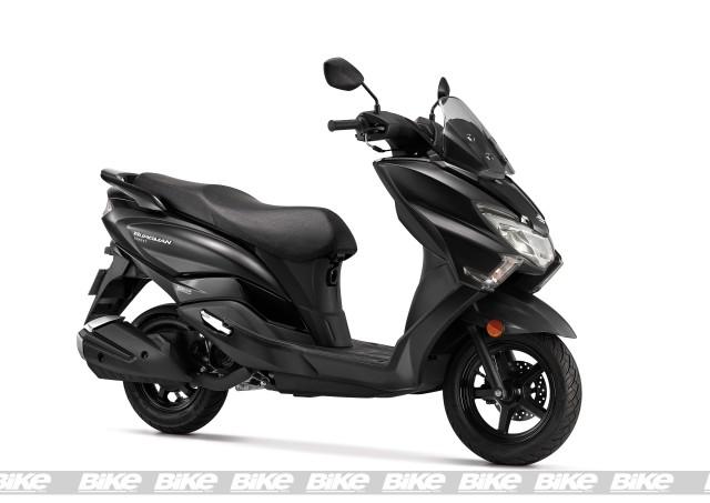 Suzuki Burgman Street 125 Matte Black launch price_M1