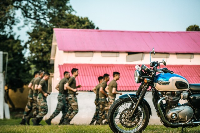 Triumph Tigers ride for the Tiger of the Nation - Indian Army motorcycle ride_web