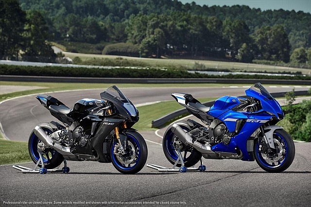 YZF-R1 and R1M WEB