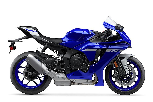 Yamaha YZF-R1 side
