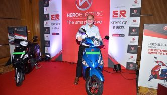 Hero Electric Launch Optima ER and Nyx ER