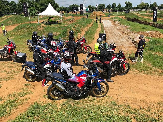 WEB Honda 2Wheelers organizes exclusive Africa Twin True Adventure Camp