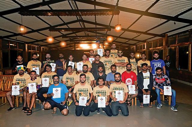 Unroad Goa 2019 end pic