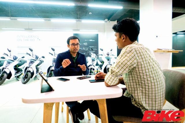 Interview with Tarun Mehta, CEO of Ather