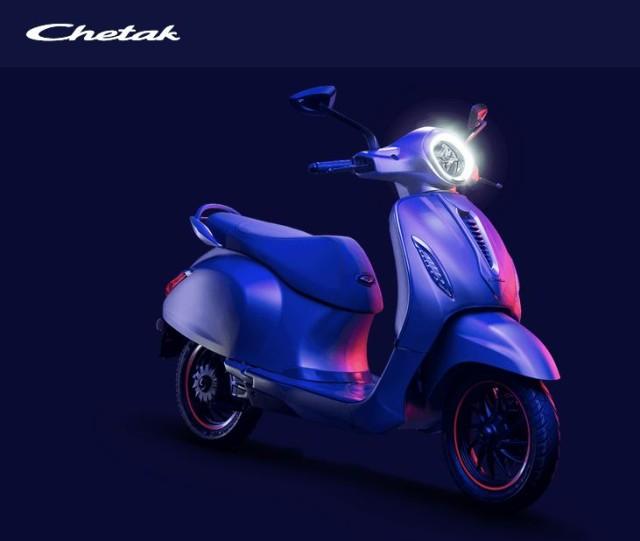 Bajaj Chetak electric launch price in India