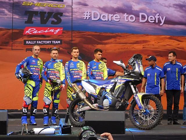 TVS Sherco Racing Team WEB