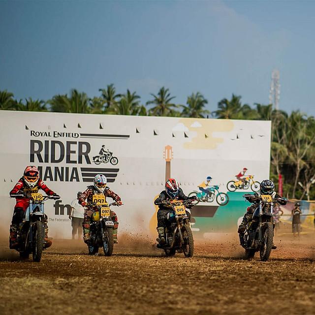 Rider Mania Dirt Track Races