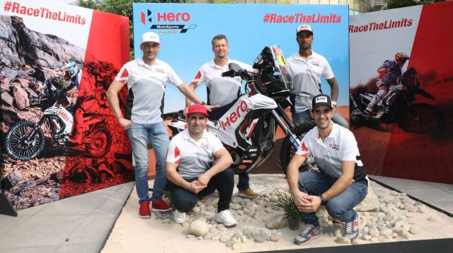 Fourth Dakar for Hero MotoSports Team Rally