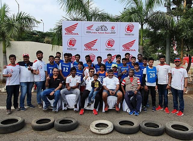 Honda 2Wheelers India resumes 2nd season of 'IDEMITSU Honda India Talent Hunt' in Pune WEB
