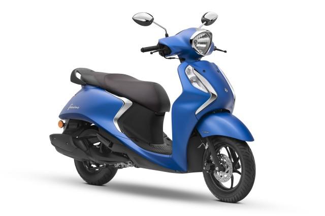 Yamaha Fascino 125 FI Matte Blue India launch