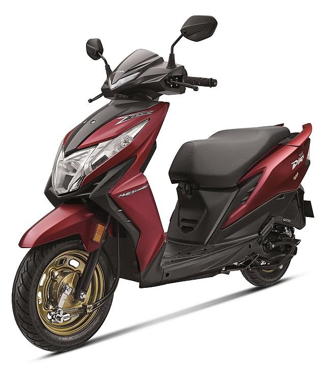 Honda Dio BS-VI WEB