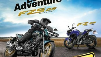 All New Yamaha FZS 25 and FZ 25