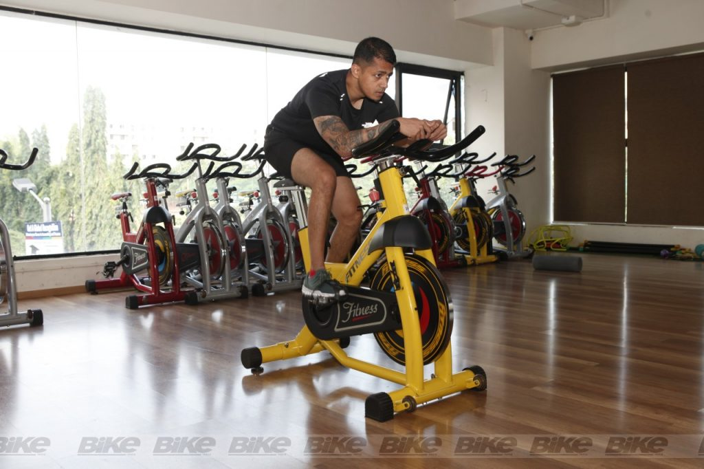 cycling in the gym for stamina and build endurance