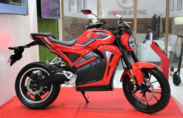 Hero Electric Motorcycle