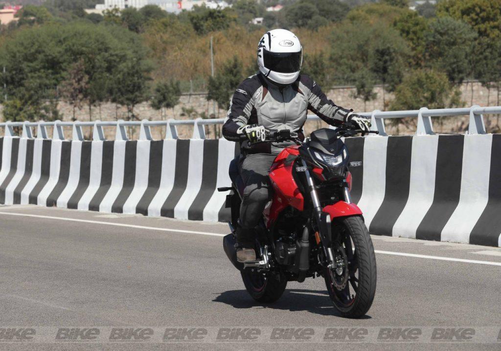 new hero Xtreme 160 ride report