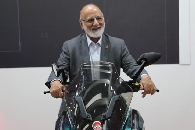 auto expo 2020 sohinder gill hero electric trike