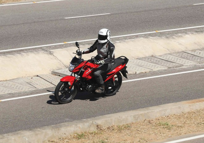 BS6 Hero Glamour 125 test ride review bike india