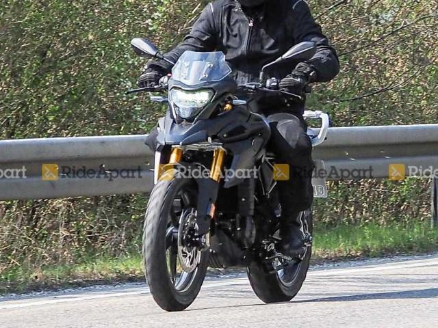 2021 BMW G 310 GS spied