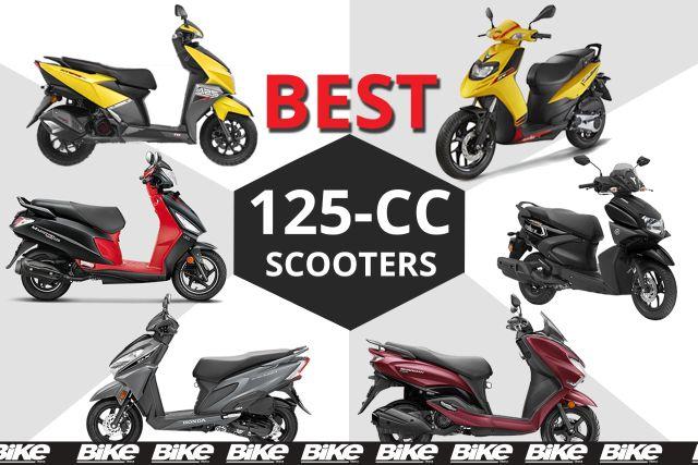 spec comparison 125cc scooters