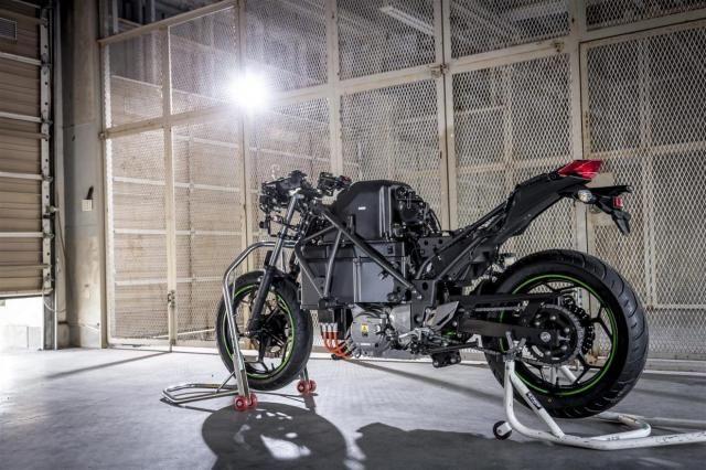 kawasaki electrice motorcycle