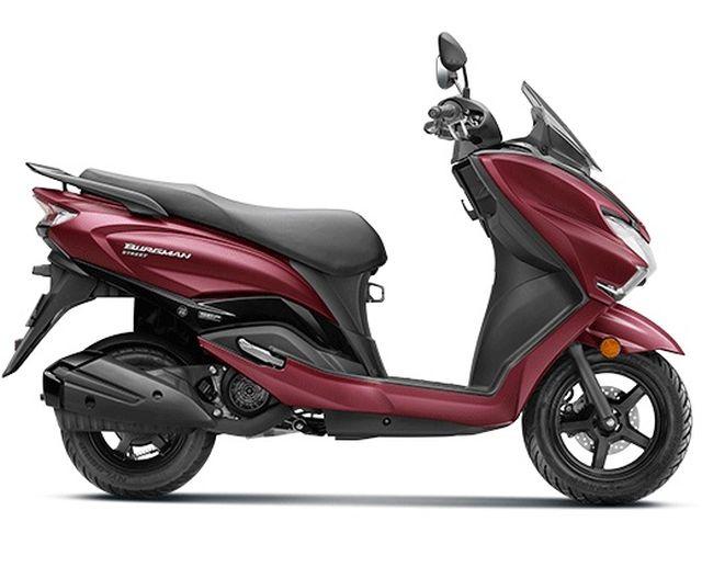 Suzuki Burgman Street 125cc scooter