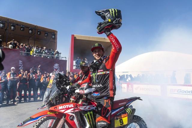 Ricky Brabec Dakar 2020 in India