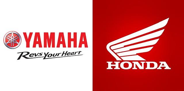 Yamaha and Honda Collage WEB