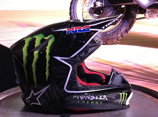 Ricky Brabec motocross helmet