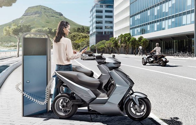 Bosch 2020 India electric scooter