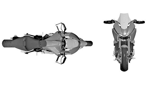 Honda CB4X PAtent 2 WEB