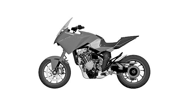 Honda CB4X PAtent 3 WEB