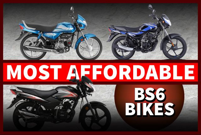 best bs6 bikes affordable