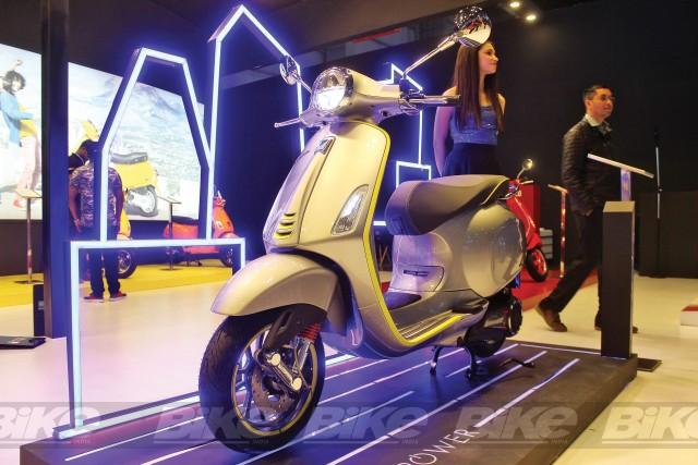 electric vespa scooter coming to India