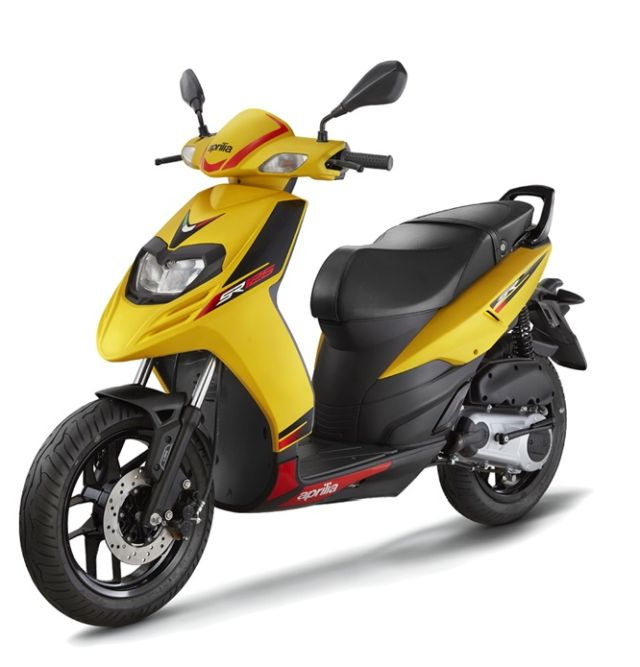 Aprilia SR 125 scooter discontinued from India