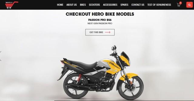 buying Hero motorcycle online